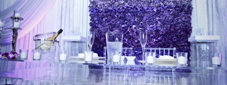 Raymons decor wedding event decor purple bliss reception junglespirit Gallery